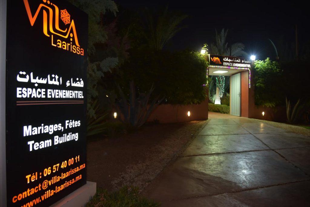 Entrée Invités Villa Laarissa