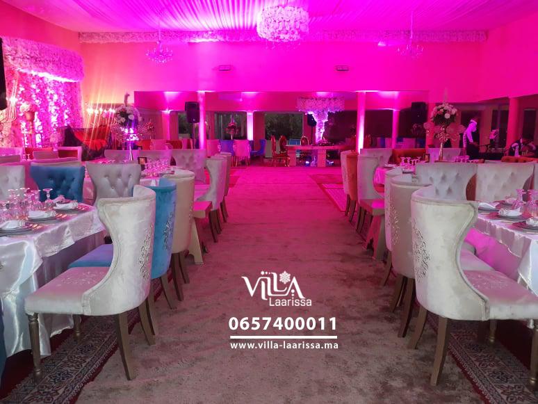 Salle de fêtes Villa Laarissa – Marrakech