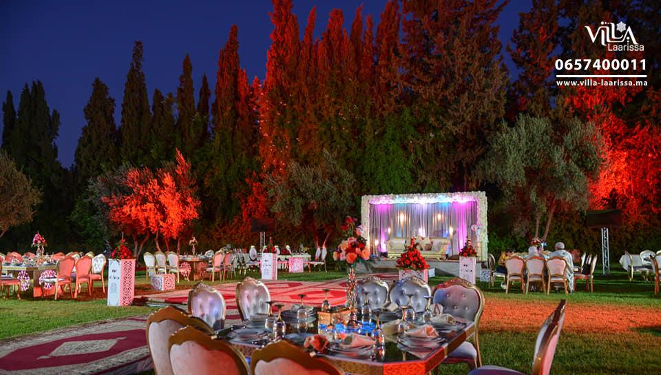 Mariage au jardin  Villa Laarissa