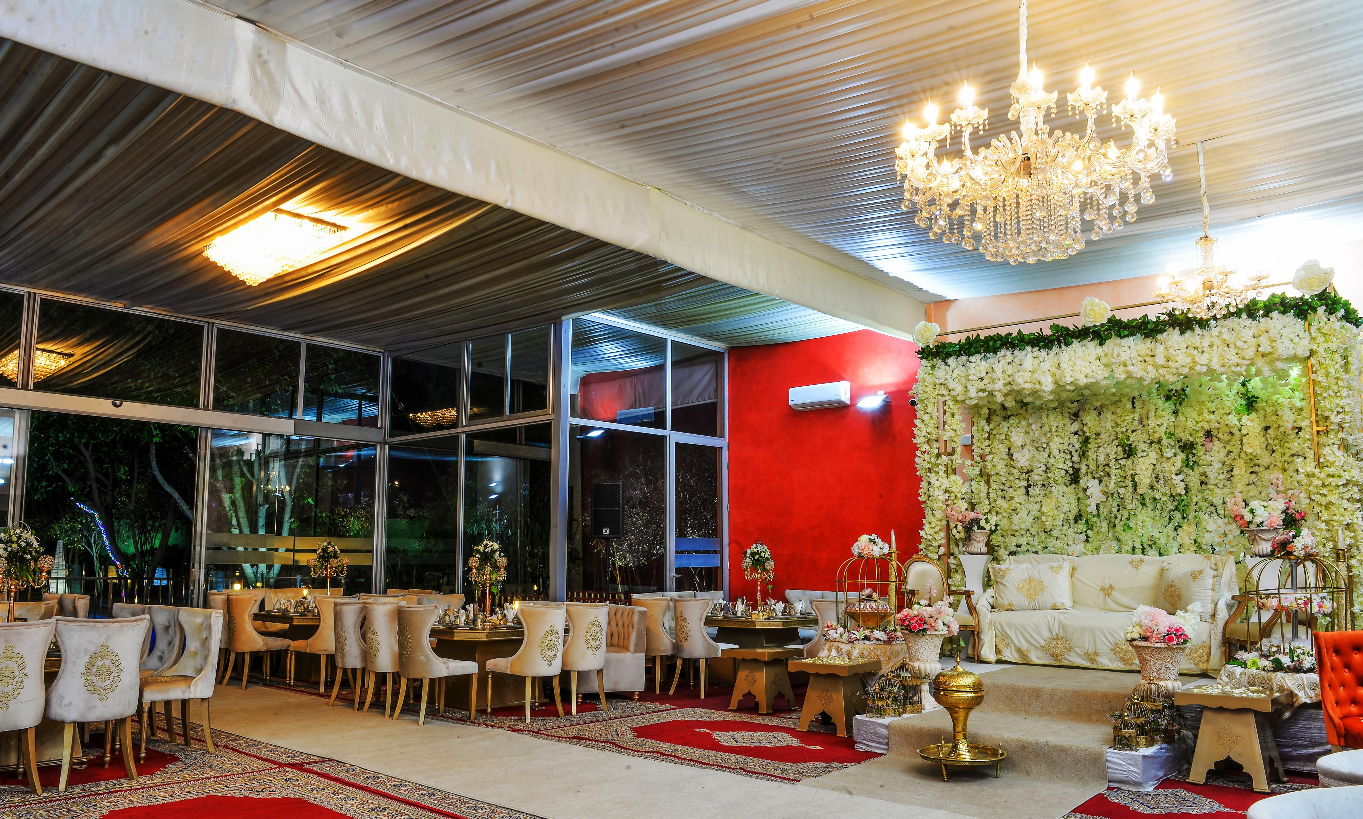 Salle de mariage – Villa Laarissa