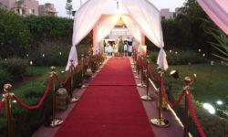 Décoration entrée invités Villa Laarissa